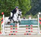 MR2019 Sep B Samstag Bew 14 Pony Standardspringprufung 090 m Soyer Nil Abbeygrey Poppy2